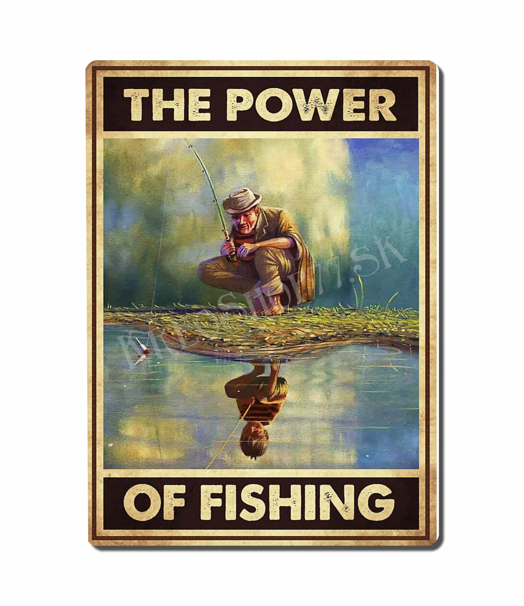 Retro Poster Fishing 001