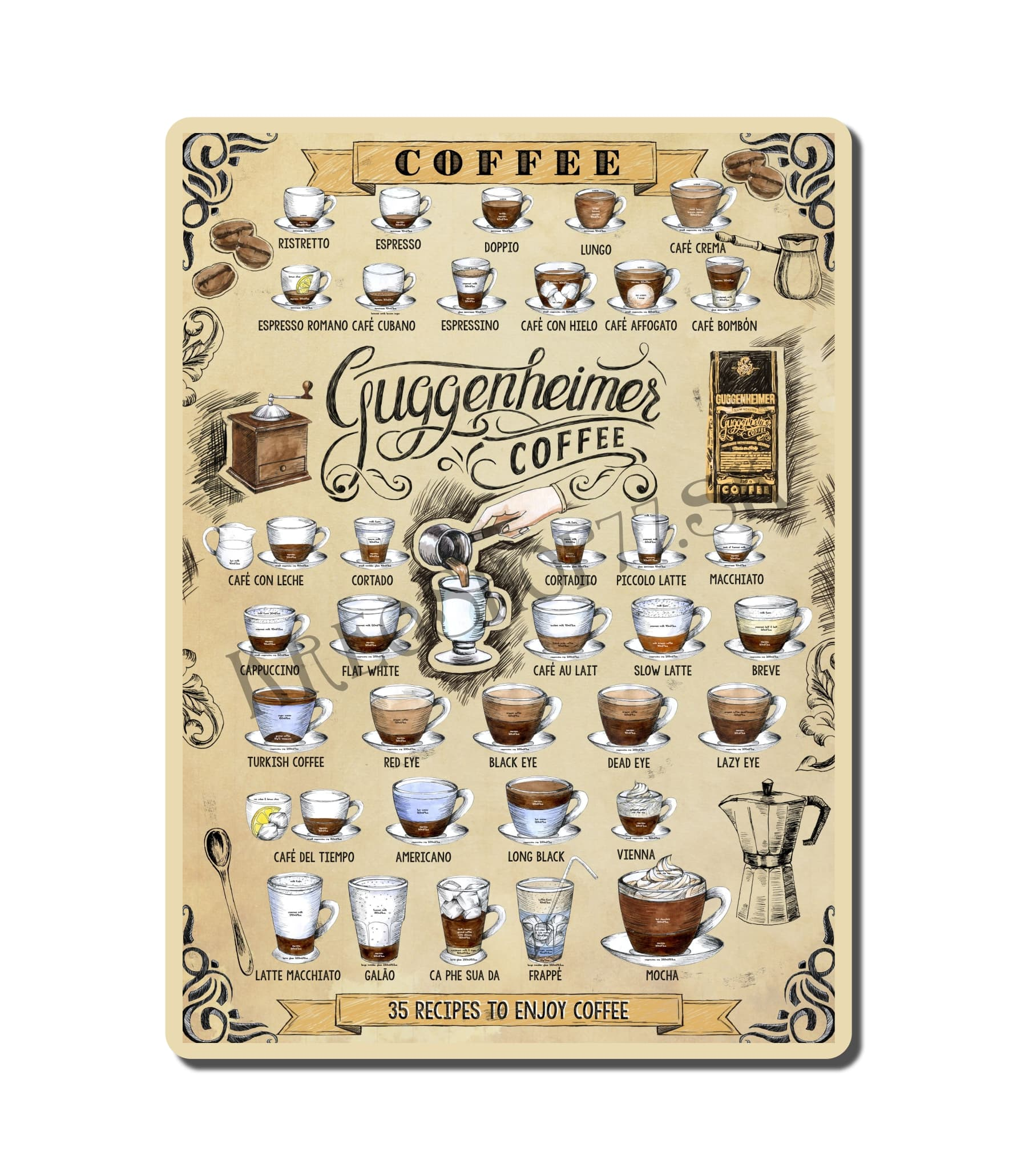Retro Poster Coffee 024