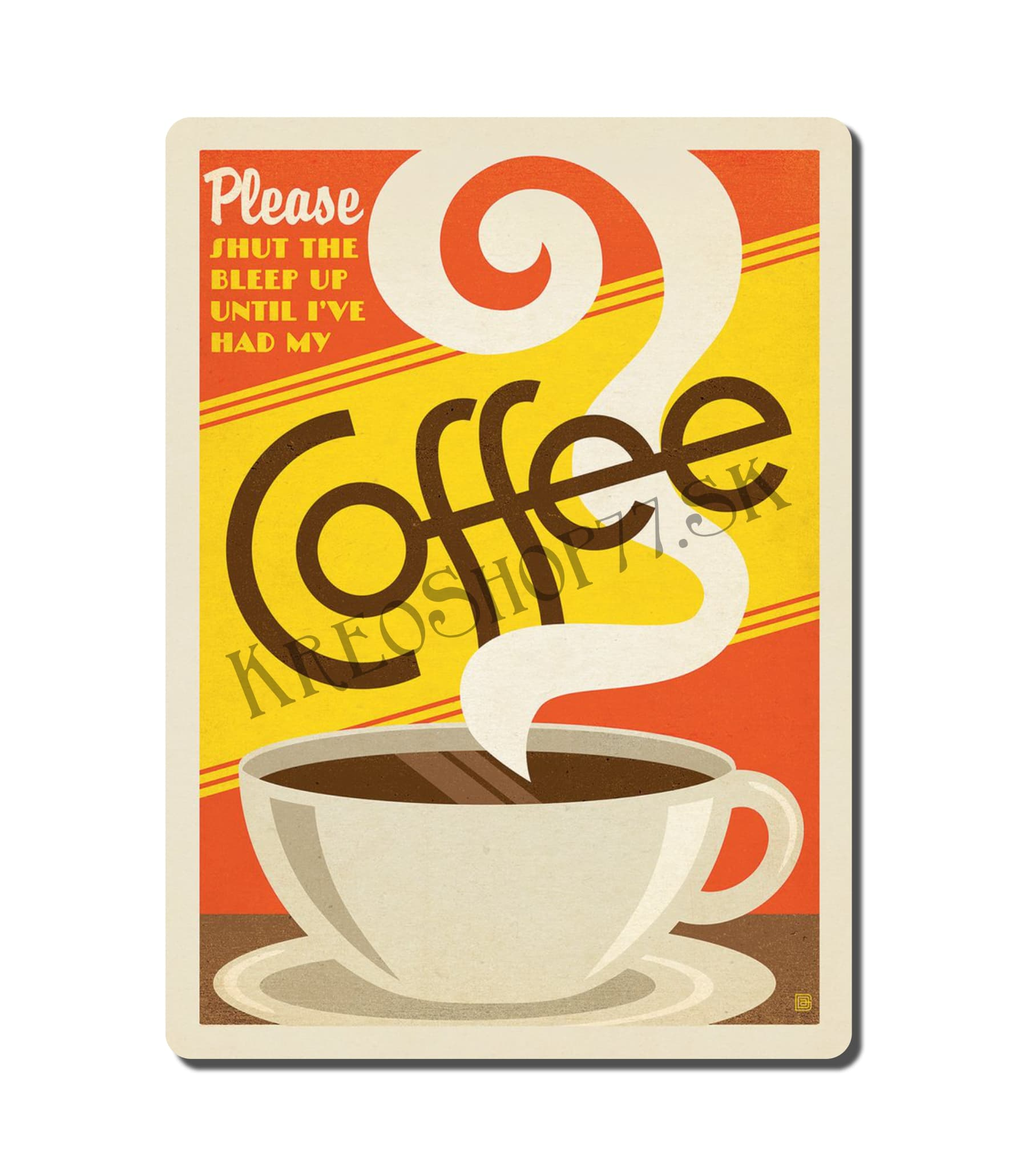 Retro Poster Coffee 032