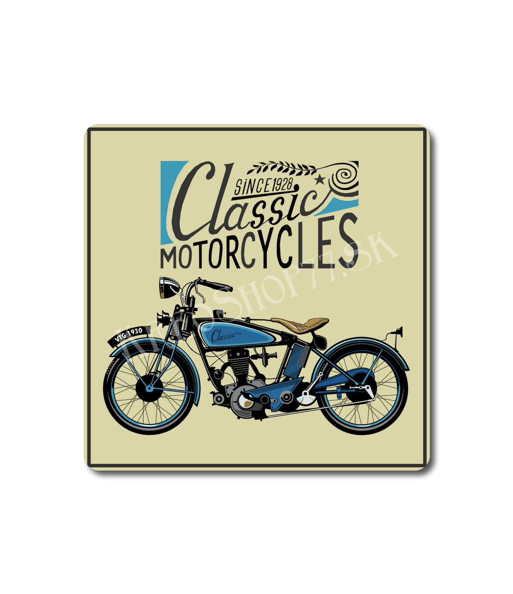 Retro Poster Motorcycle 011