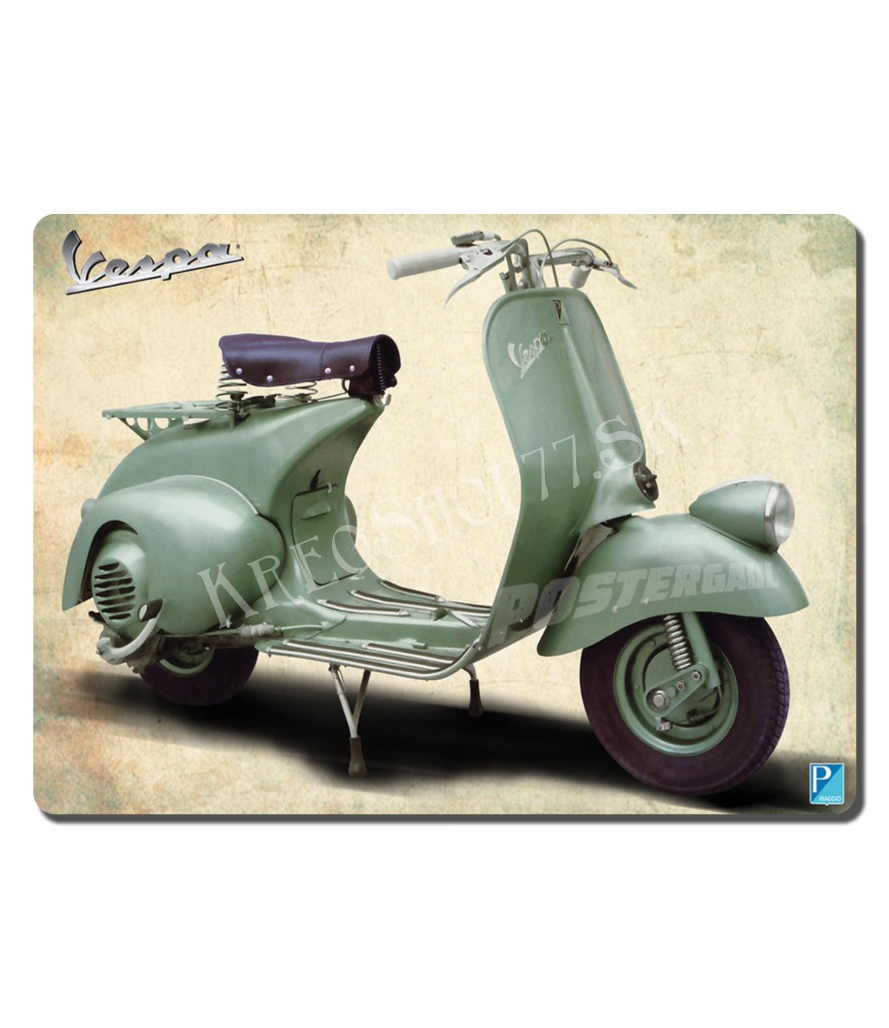 Retro Poster Motorcycle 017