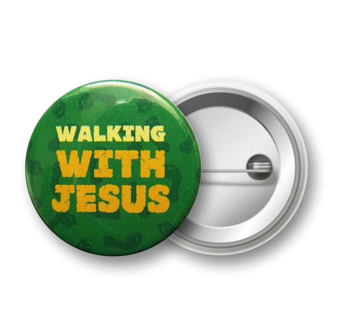 Odznak - Walking with Jesus